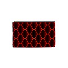 Snake Abstract Pattern Cosmetic Bag (small)