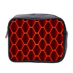 Snake Abstract Pattern Mini Toiletries Bag 2-Side