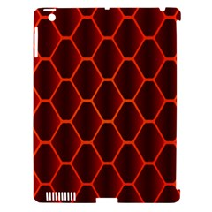 Snake Abstract Pattern Apple iPad 3/4 Hardshell Case (Compatible with Smart Cover)