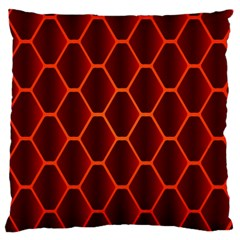 Snake Abstract Pattern Large Cushion Case (One Side)