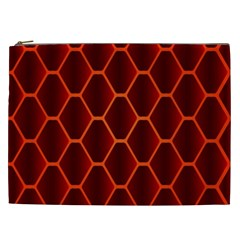 Snake Abstract Pattern Cosmetic Bag (XXL)