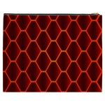 Snake Abstract Pattern Cosmetic Bag (XXXL)  Back