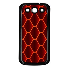Snake Abstract Pattern Samsung Galaxy S3 Back Case (black)