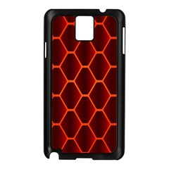 Snake Abstract Pattern Samsung Galaxy Note 3 N9005 Case (Black)