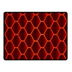 Snake Abstract Pattern Double Sided Fleece Blanket (Small)