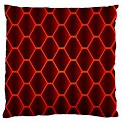 Snake Abstract Pattern Large Flano Cushion Case (two Sides)