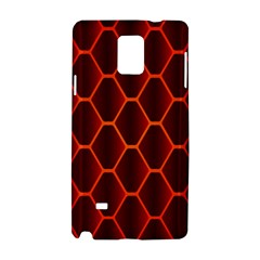 Snake Abstract Pattern Samsung Galaxy Note 4 Hardshell Case
