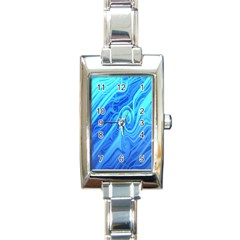 Vintage Pattern Background Wallpaper Rectangle Italian Charm Watch