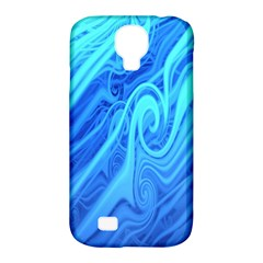 Vintage Pattern Background Wallpaper Samsung Galaxy S4 Classic Hardshell Case (pc+silicone)
