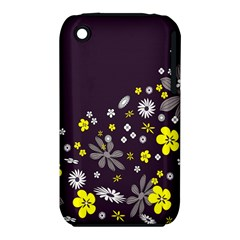 Vintage Retro Floral Flowers Wallpaper Pattern Background Iphone 3s/3gs