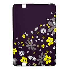 Vintage Retro Floral Flowers Wallpaper Pattern Background Kindle Fire Hd 8 9
