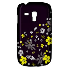 Vintage Retro Floral Flowers Wallpaper Pattern Background Galaxy S3 Mini