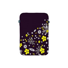 Vintage Retro Floral Flowers Wallpaper Pattern Background Apple iPad Mini Protective Soft Cases
