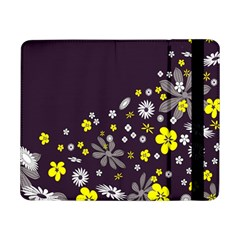 Vintage Retro Floral Flowers Wallpaper Pattern Background Samsung Galaxy Tab Pro 8.4  Flip Case