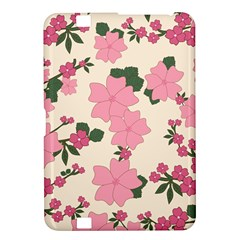 Vintage Floral Wallpaper Background In Shades Of Pink Kindle Fire HD 8.9