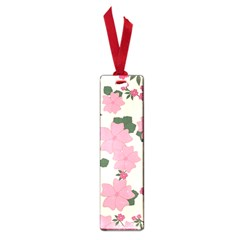 Vintage Floral Wallpaper Background In Shades Of Pink Small Book Marks