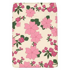 Vintage Floral Wallpaper Background In Shades Of Pink Flap Covers (S)