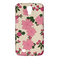 Vintage Floral Wallpaper Background In Shades Of Pink Samsung Galaxy Mega 6 3  I9200 Hardshell Case