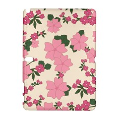 Vintage Floral Wallpaper Background In Shades Of Pink Galaxy Note 1