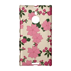Vintage Floral Wallpaper Background In Shades Of Pink Nokia Lumia 1520