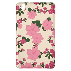 Vintage Floral Wallpaper Background In Shades Of Pink Samsung Galaxy Tab Pro 8 4 Hardshell Case