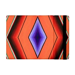 Diamond Shape Lines & Pattern Apple iPad Mini Flip Case