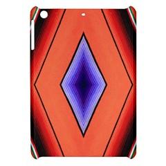 Diamond Shape Lines & Pattern Apple iPad Mini Hardshell Case