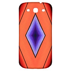 Diamond Shape Lines & Pattern Samsung Galaxy S3 S Iii Classic Hardshell Back Case