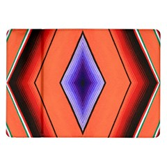 Diamond Shape Lines & Pattern Samsung Galaxy Tab 10.1  P7500 Flip Case