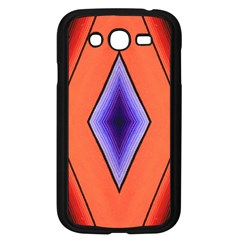 Diamond Shape Lines & Pattern Samsung Galaxy Grand Duos I9082 Case (black)