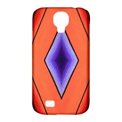 Diamond Shape Lines & Pattern Samsung Galaxy S4 Classic Hardshell Case (PC+Silicone)