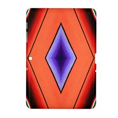 Diamond Shape Lines & Pattern Samsung Galaxy Tab 2 (10.1 ) P5100 Hardshell Case