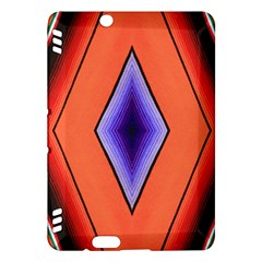 Diamond Shape Lines & Pattern Kindle Fire HDX Hardshell Case