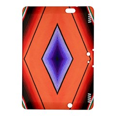 Diamond Shape Lines & Pattern Kindle Fire Hdx 8 9  Hardshell Case