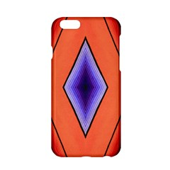 Diamond Shape Lines & Pattern Apple iPhone 6/6S Hardshell Case