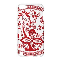 Red Vintage Floral Flowers Decorative Pattern Apple iPod Touch 5 Hardshell Case