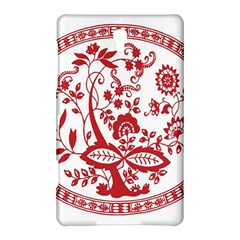 Red Vintage Floral Flowers Decorative Pattern Samsung Galaxy Tab S (8 4 ) Hardshell Case
