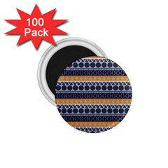 Abstract Elegant Background Pattern 1.75  Magnets (100 pack)