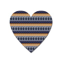 Abstract Elegant Background Pattern Heart Magnet