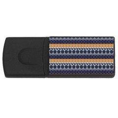 Abstract Elegant Background Pattern USB Flash Drive Rectangular (2 GB)