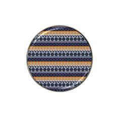 Abstract Elegant Background Pattern Hat Clip Ball Marker