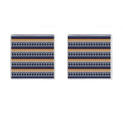 Abstract Elegant Background Pattern Cufflinks (square)