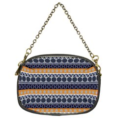 Abstract Elegant Background Pattern Chain Purses (One Side)