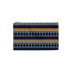 Abstract Elegant Background Pattern Cosmetic Bag (small)