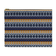 Abstract Elegant Background Pattern Cosmetic Bag (XL)