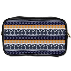 Abstract Elegant Background Pattern Toiletries Bags 2-Side