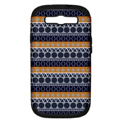 Abstract Elegant Background Pattern Samsung Galaxy S III Hardshell Case (PC+Silicone)