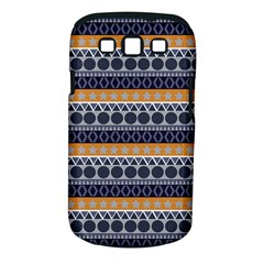 Abstract Elegant Background Pattern Samsung Galaxy S Iii Classic Hardshell Case (pc+silicone)