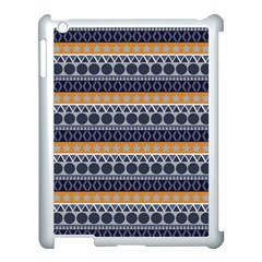 Abstract Elegant Background Pattern Apple iPad 3/4 Case (White)