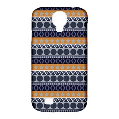 Abstract Elegant Background Pattern Samsung Galaxy S4 Classic Hardshell Case (PC+Silicone)